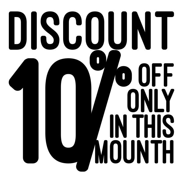discount ten percent