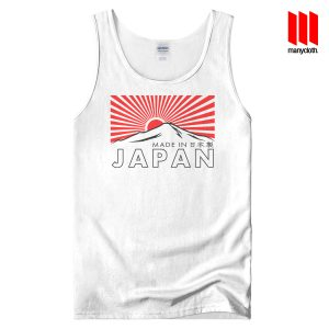 The Rising Sun In Fuji White Tank Top Unisex