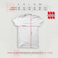 Size Chart TShirt Manycloth