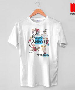Adventure De Spirou Et Fantasio T Shirt is the best and cheap designs clothing