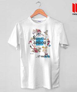 Adventure De Spirou Et Fantasio T Shirt is the best and cheap designs clothing