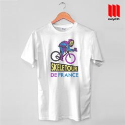 Skeletour De France T Shirt is the best and cheap designs clothing