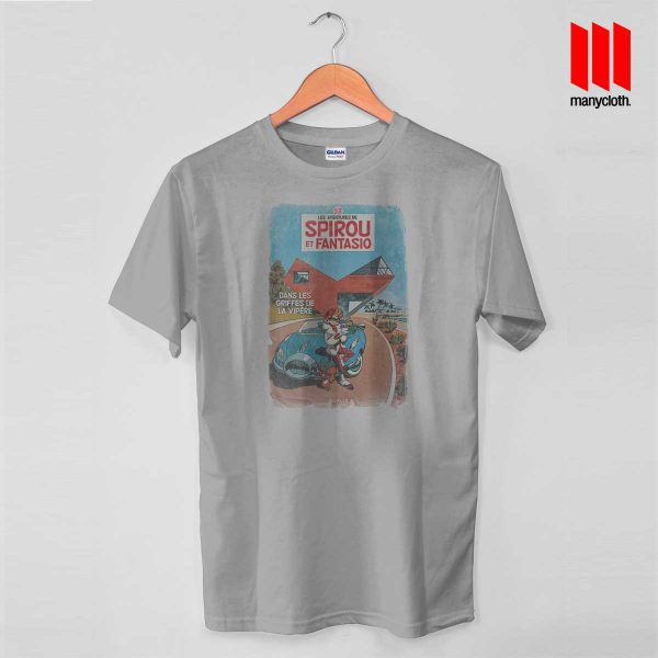 Spirou and Fantasio – In The Clutches Of The Viper T Shirt is the best and cheap designs clothing