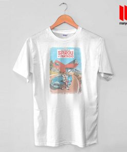 Spirou and Fantasio - In The Clutches Of The Viper T Shirt is the best and cheap designs clothing for gift