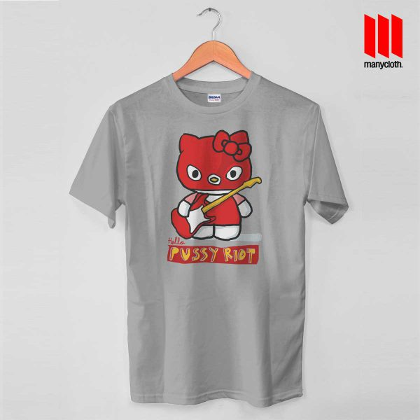 Hello Riot Gray T Shirt 600x600 Hello Riot T Shirt is the best and cheap designs clothing