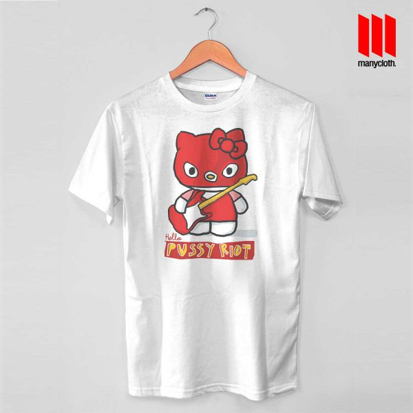 Hello Riot White T Shirt 600x600 Hello Riot T Shirt is the best and cheap designs clothing