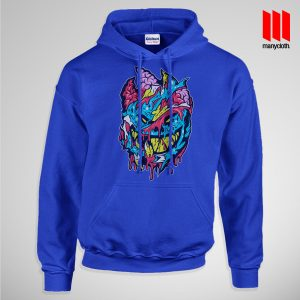 Bloody Brainie Monster From Hell Pullup Hoodie Blue 300x300 Bloody Brain Monster Hoodie is the best and cheap designs clothing for gift