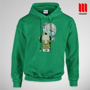 Dog Detective Pullup Hoodie Green 300x300 Dog Detective Hoodie is the best and cheap designs clothing for gift