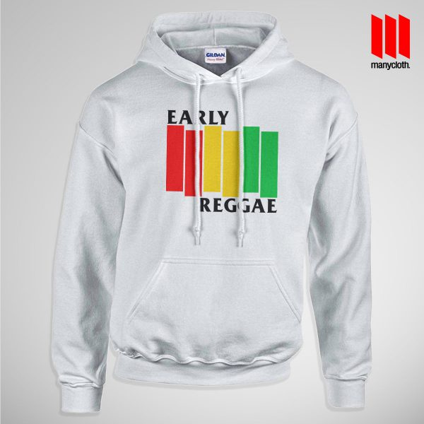 Early Reggae Flag Pullup Hoodie White 600x600 Early Reggae Flag Hoodie is the best and cheap designs clothing for gift