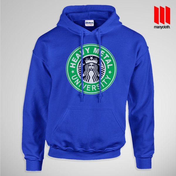 Heavy Metal University Pullup Hoodie Blue 600x600 Heavy Metal University Hoodie is the best and cheap designs clothing for gift