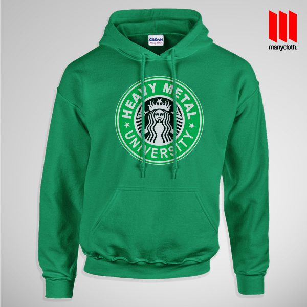 Heavy Metal University Pullup Hoodie Green 600x600 Heavy Metal University Hoodie is the best and cheap designs clothing for gift