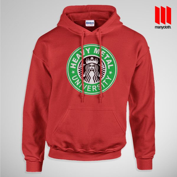 Heavy Metal University Pullup Hoodie Red 600x600 Heavy Metal University Hoodie is the best and cheap designs clothing for gift