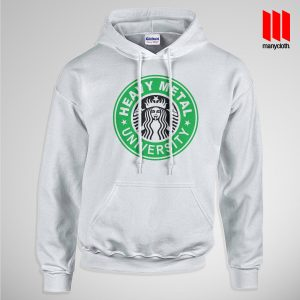 Heavy Metal University Pullup Hoodie White 300x300 Heavy Metal University Hoodie is the best and cheap designs clothing for gift