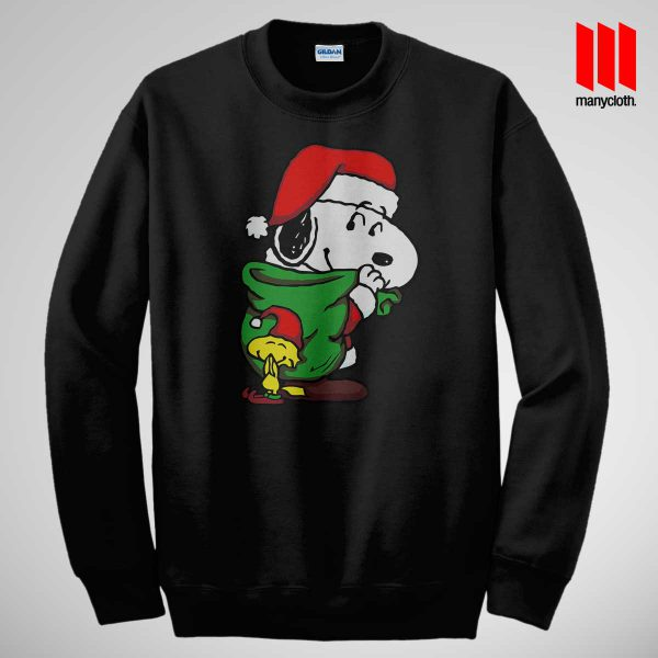 Santa Dog Sweatshirt Black 600x600 Santa Dog Sweatshirt
