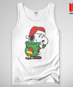 Santa Dog Tank Top Unisex