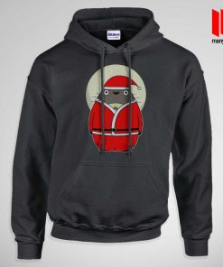 Santa Totoro Hoodie is the best and cheap designs clothing for gift