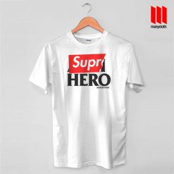 Supre Hero T Shirt is the best and cheap designs clothing for gift