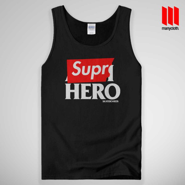 Supre Hero Tank Top Black 600x600 Supre Hero Black Tank Top Unisex