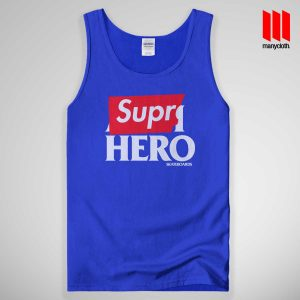 Supre Hero Tank Top Blue 300x300 Supre Hero Black Tank Top Unisex