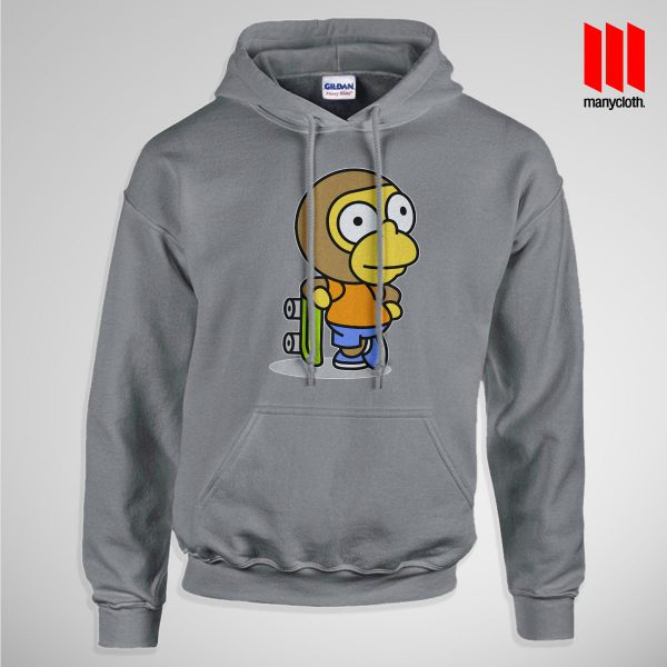 The Coolest Skater Monkey Pullup Hoodie Gray 600x600 Coolest Skater Monkey Hoodie is the best and cheap designs clothing for gift