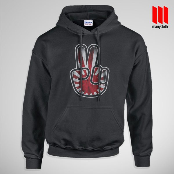 Victory For Japan Pullup Hoodie Black 600x600 Victory For Japan Hoodie is the best and cheap designs clothing for gift