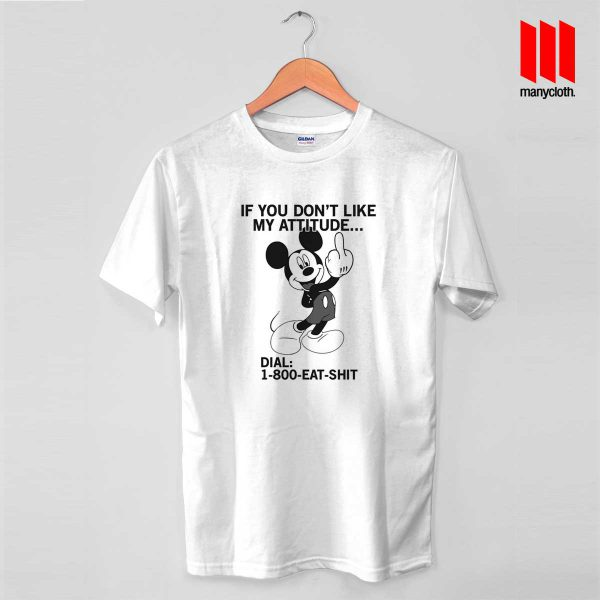 1 800 Eat Shit Mickey Mouse T Shirt