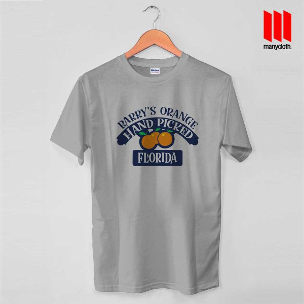 Barry Orange Hand Picked Florida T Shirt