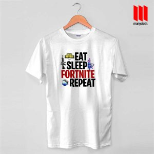 Eat Sleep Fortnite Repeat For Victory Royale T Shirt