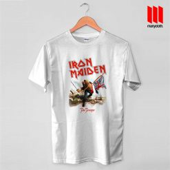 Iron Maiden The Trooper Band T Shirt