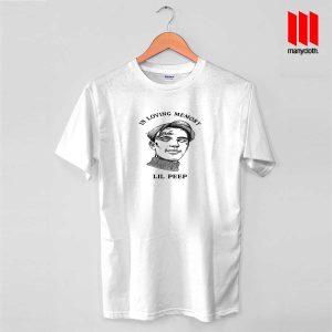 Lil Peep In Loving Memory T Shirt