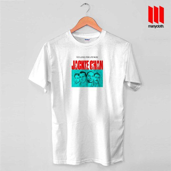 Tiesto X Dzeko X Preme X Post Malone Jackie Chan T Shirt