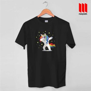Unicorn Dab Funny T Shirt