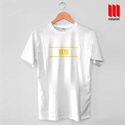 1970 Yellow T Shirt