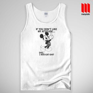 1 800 Eat Shit Mickey Mouse Tank Top Unisex