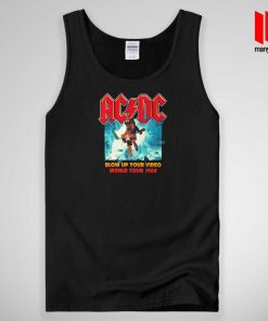 ACDC Blow Up Your Video World Tour 1988 Tank Top Unisex