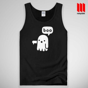 Boo Ghost Halloween Tank Top Unisex
