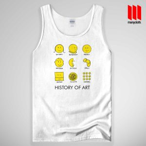 Art Smiley Face Tank Top Unisex