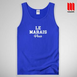 Le Marais Paris Tank Top Unisex