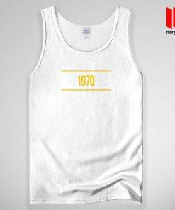1970 Yellow Tank Top Unisex