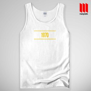1970 Yellow Tank Top Unisex