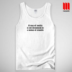 A Man Of Quality Tank Top Unisex