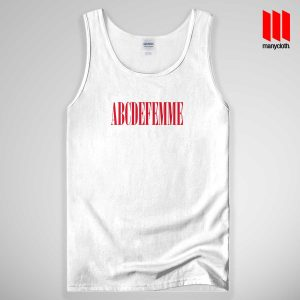 ABCDEFEMME Tank Top Unisex