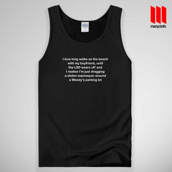 Boyfriends Quote 600x600 Boyfriends Quote Tank Top Unisex