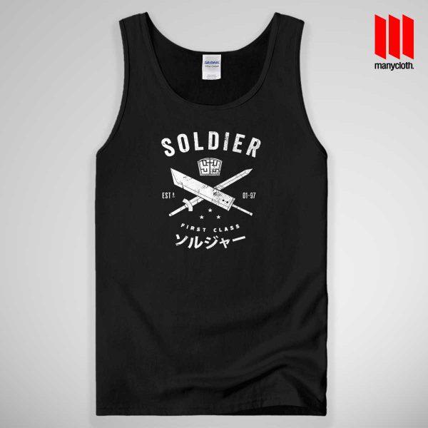 Soldier First Class Tank Top Unisex