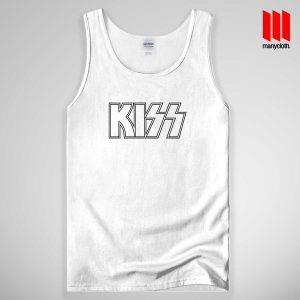 Kiss Logo Band Tank Top Unisex