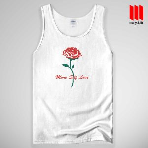 Rose More Self Love Quote Tank Top Unisex