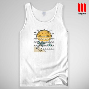 Sun Sleep Quote Band Tank Top Unisex