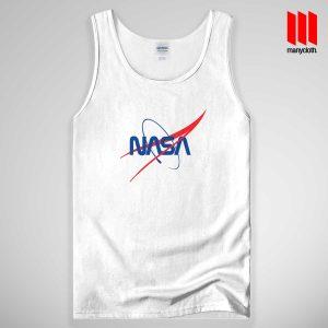 NASA Logo Quote Band Tank Top Unisex