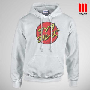 Japanese Santacruz Skateboard Hoodie is the best and cheap clothing for gift
