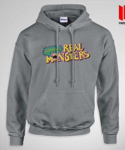 The Real Monsters Logo Hoodie